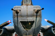 Free RAF Shackleton Forward Guns Stock Photography - 1672742