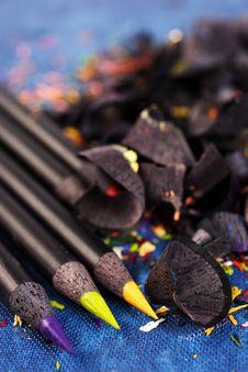Free Color Pencils Stock Photo - 1672790