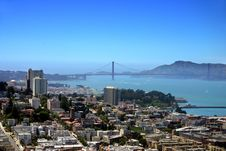 Free San Francisco Skyline Royalty Free Stock Photography - 1673267