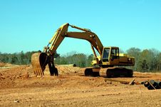 Free Backhoe Stock Photography - 1673392