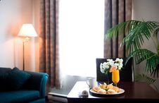 Free Hotel Room Breakfast Stock Photos - 1673743