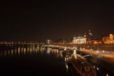Free Dresden At Night Royalty Free Stock Photo - 1674375
