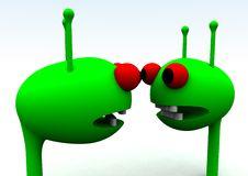 Free Alien Heads 28 Stock Photos - 1674513