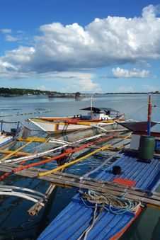 Free Asian Fishermen�s Boat. Stock Photos - 1674923