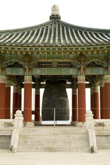 Korean Bell Pagoda Center Royalty Free Stock Images