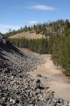 Free Big Obsidian Flow Stock Images - 1674974