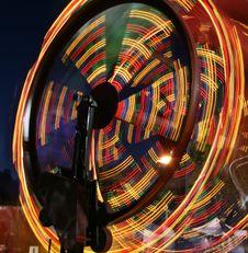 Ferris Wheel Spinning Fast