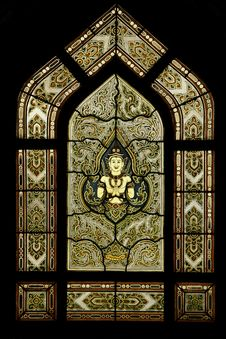 Free Temple Window Royalty Free Stock Image - 1675856