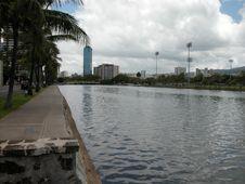 Free Ala Wai Canal Royalty Free Stock Image - 1676086