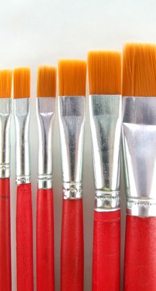 Free Brush Set 2 Royalty Free Stock Photography - 1676127