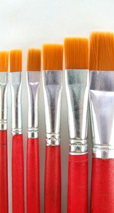 Free Brush Set 2 Royalty Free Stock Photography - 1676127