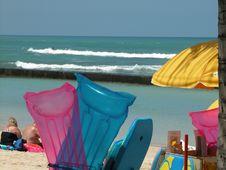 Free Beach Sunbathing Royalty Free Stock Photo - 1676135