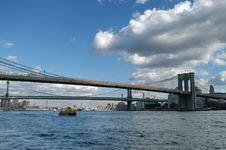 Free Brooklyn, Manhattan Bridge Royalty Free Stock Photos - 1676198
