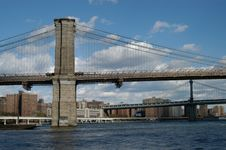 Free Brooklyn, Manhattan Bridge Royalty Free Stock Images - 1676199