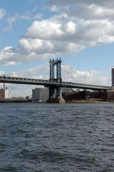 Free Manhattan Bridge Royalty Free Stock Photos - 1676238