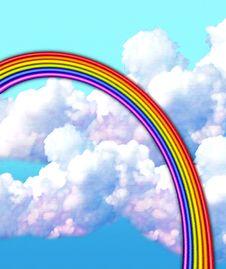 Free Pastel & Chalk Rainbow • SEE MY PORTFOLIO! Stock Photography - 1676332