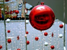 Free Christmas Ornaments Royalty Free Stock Photo - 1676375