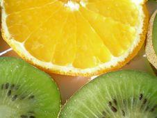 Free Kiwi And Orange Royalty Free Stock Photo - 1676435