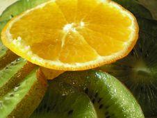 Free Kiwi And Orange Stock Photo - 1676470