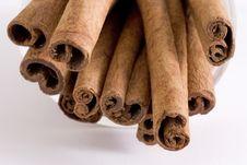 Free Cinnamon Sticks. Royalty Free Stock Photos - 1676528