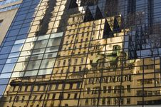 Free Trump Tower Building Reflection Stock Images - 1676684