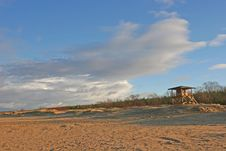 Free Beach View Royalty Free Stock Photo - 1677145