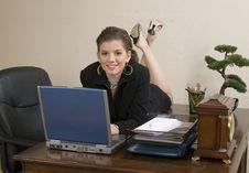 Free Office Girl Stock Photos - 1677233