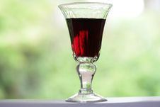 Free Wine Glass Royalty Free Stock Photography - 1677557