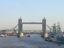 Free Tower Bridge London Stock Image - 1679751