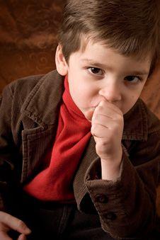 Free Thinking Boy Royalty Free Stock Image - 1679866