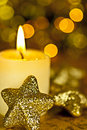 Free Candle And Stars. Stock Photos - 16703393