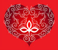 Free Ornament Heart. Stock Photography - 16705662