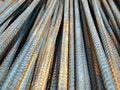 Free Deformed Bars Steel Shafts Royalty Free Stock Image - 16709946