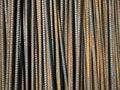 Free Deformed Bars Steel Shafts Stock Photography - 16709962