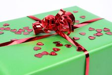 Romantic Gift Stock Photography