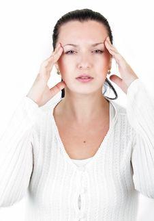 Migraine Royalty Free Stock Photos