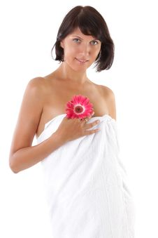 Free Beautiful Woman Before Bath Royalty Free Stock Image - 16700936