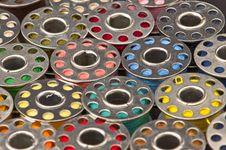 Free Spools Of Yarn Stock Photos - 16701113