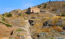 Free House On The Acrocorinth Hill Royalty Free Stock Photo - 16701665