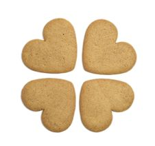 Free Four Gingerbread Cookies Stock Photo - 16701840