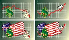 Foreign Exchange Rate - Dollar Stock Photos