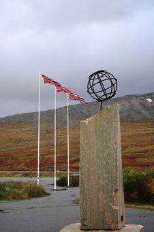 Norwegian Flag Royalty Free Stock Images