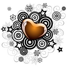 Free Lovely Heart For Valentine S Day Royalty Free Stock Photography - 16702387