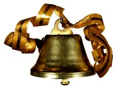 Gold Handbell Stock Images