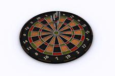 Free Dart On Target Stock Image - 16703051