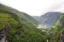 Free Geiranger Fjord Royalty Free Stock Photo - 16703885