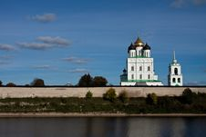 Free Russian Church. Royalty Free Stock Images - 16704639