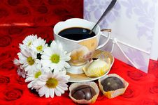 Free A Cup Of Coffee For Your Favorite Royalty Free Stock Photos - 16705108