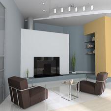 Free Modern Interior Stock Image - 16705301