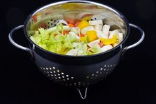 Free Soup Vegetables Royalty Free Stock Photos - 16705328